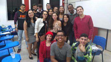Elcimar e a turma da classe - Foto: arquivo pessoal