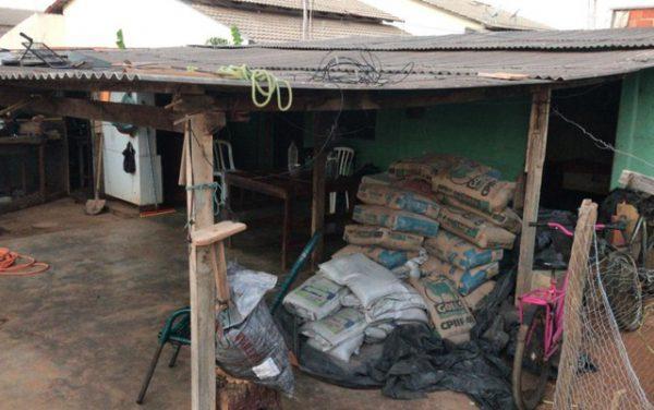 O barracão onde Maristela vive - Foto: Arquivo pessoal/Alexandre Fernandes de Castro