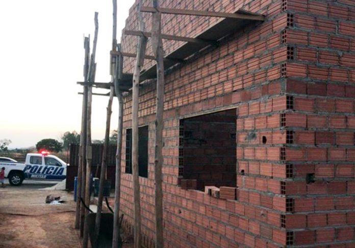 Construção da casa - Foto: Arquivo pessoal/Alexandre Fernandes de Castro  