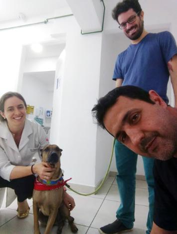 Doze com a veterinária - Foto: Danilo Mello