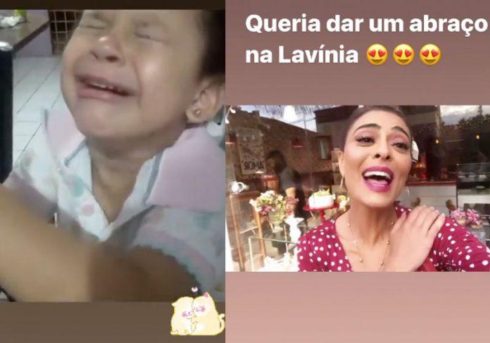 Lavínia e Juliana Paes - Fotos: reprodução / Instagram @julianapaes
