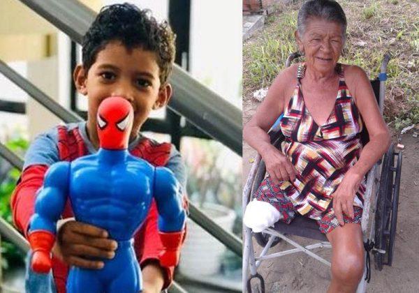 O boneco e a cadeira de rodas - Fotos: Éricka Pereira/ Arquivo pessoal