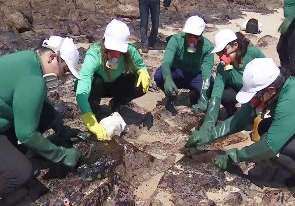 Biogel sendo aplicado em PE - Foto: Reprodução/TV Globo