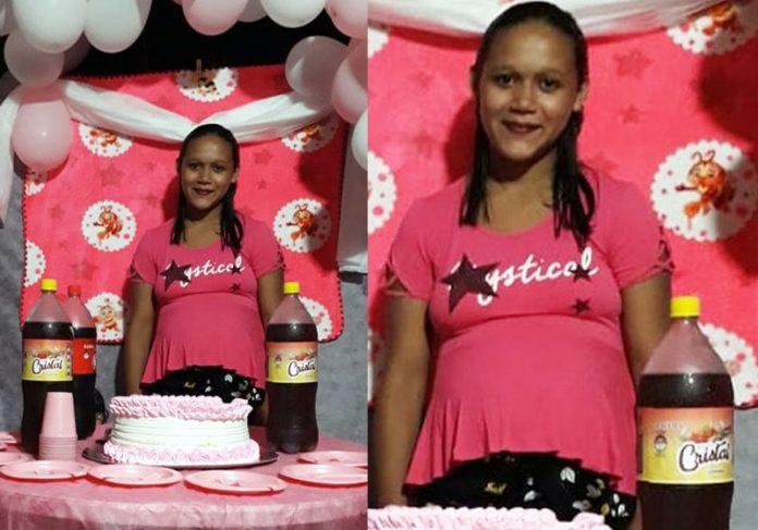 Eliete no chá de bebê - Fotos: Rosa Cavalcante/Arquivo pessoal||