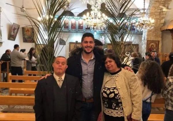 Sader ao lado dos pais Foto: @saderissa