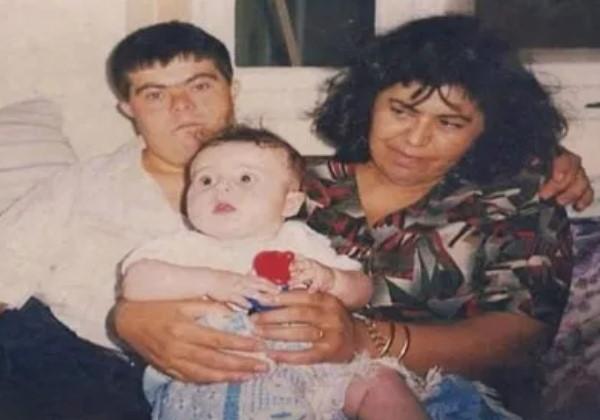 Sader bebê com os pais Foto: @saderissa
