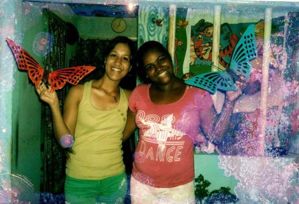 As amigas em 1999 - Foto: arquivo pessoal