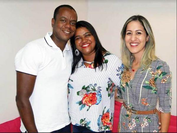 Fabiano, Evanilma e Manuela - Foto: arquivo pessoal