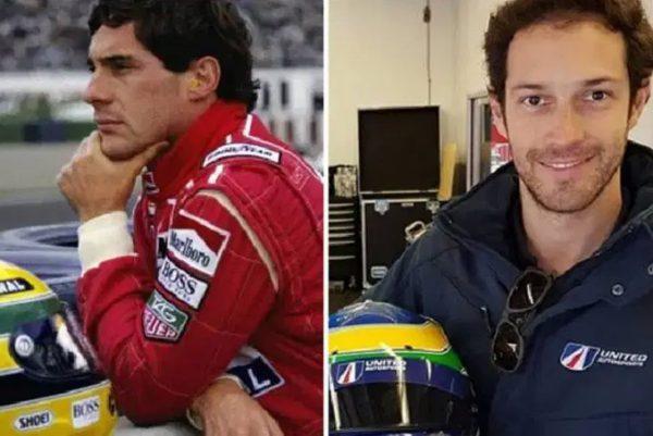 Ayrton e Bruno Senna - Fotos: reprodução / Instagram