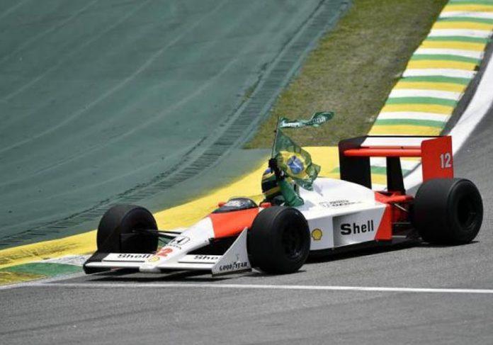 Bruno Senna em Interlagos - Foto: Douglas Magno / AFP||