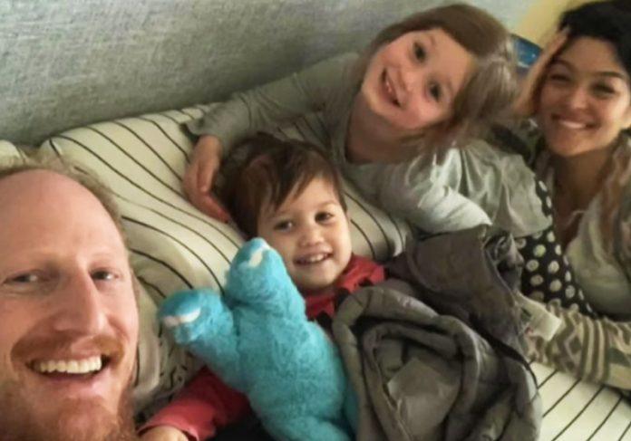 Ari Ellman e a família - Foto: reprodução / NBCNews