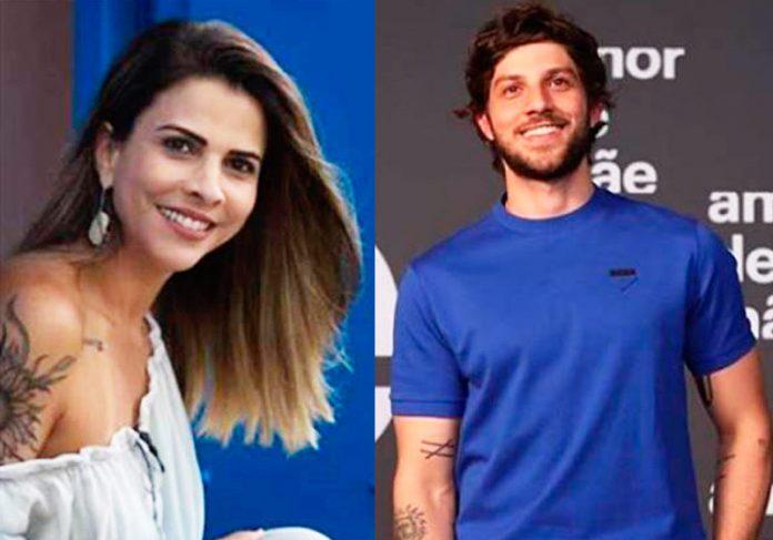 Herica e Chay Suede - Fotos: reprodução/Instagram e Estevam Avellar/TV Globo