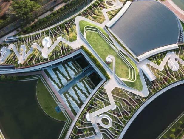 Fazenda urbana sustentável em Bangkok -  Foto: Divulgação / Kotchakorn Voraakhom / Landprocess