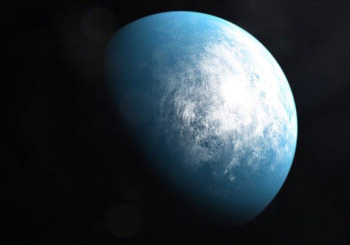 Planeta habitável - Foto/ilustração: Nasa/AFP  Planeta habitável - Foto/ilustração: Nasa/AFP