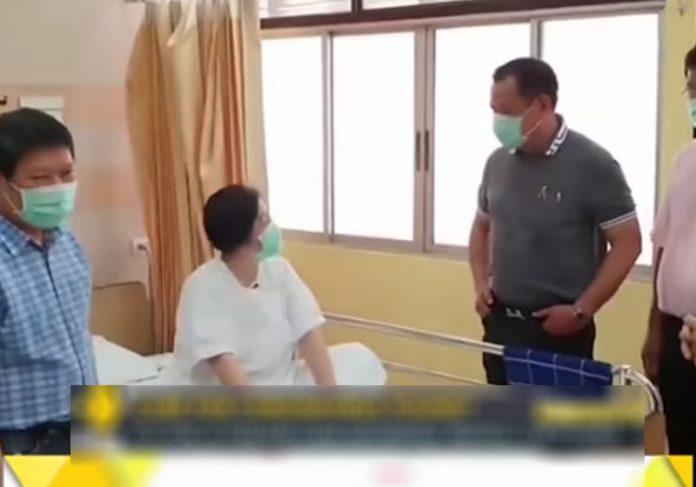 Mulher curada do Coronavírus na Tailândia - Foto: reprodução / WIONews