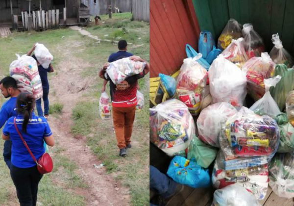 |Bilhete que retrata a fome - Foto: reprodução / Facebook||