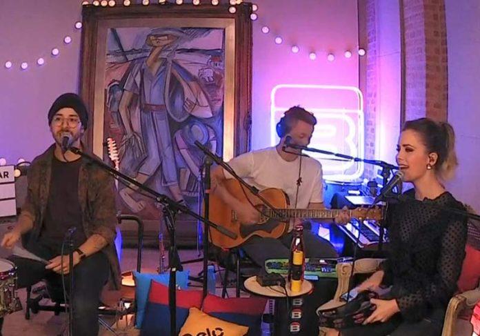 Live de Sandy & Júnior - Foto: reprodução / Youtube