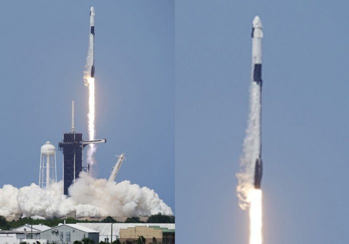Lançamento da Space X - Foto: David J. Philip/AP Photo