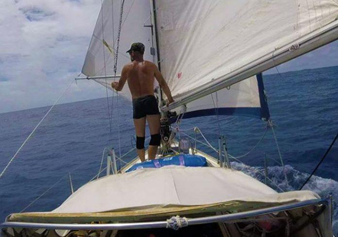 Juan no oceano Atlântico - Foto: reprodução / Instagram