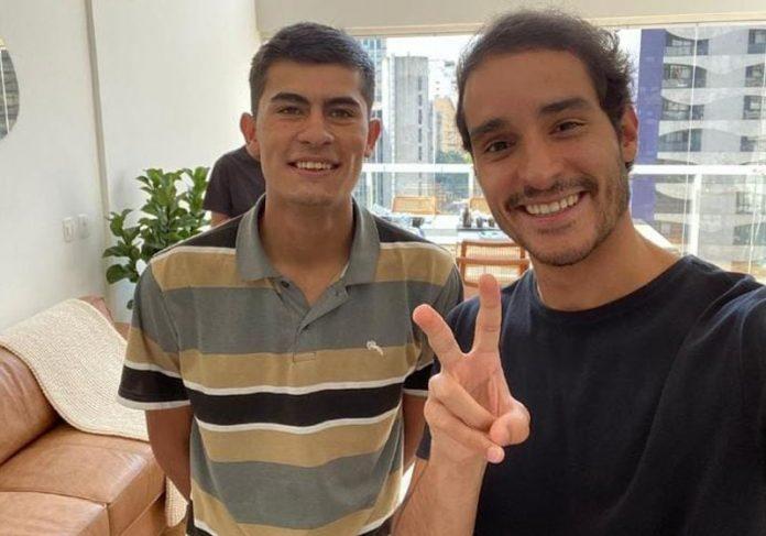 Matheus e Rapha Avellar - Foto: reprodução / Instagram