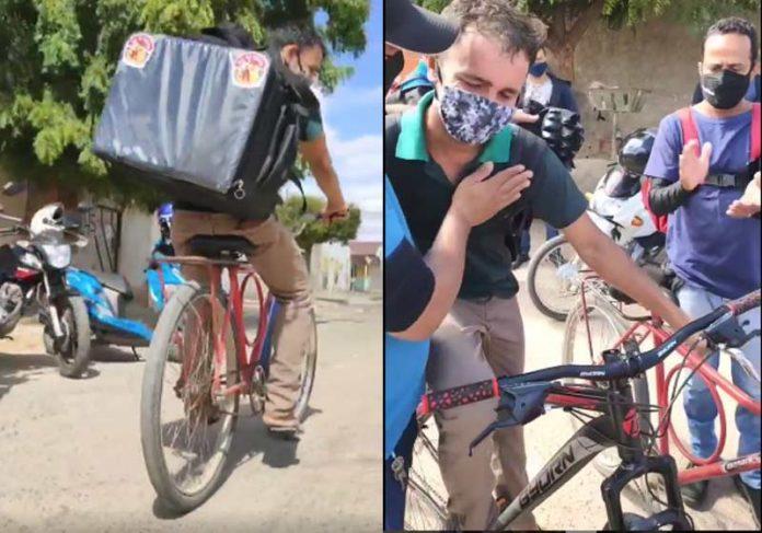 Bikes velha e nova de Leonardo - Fotos: reprodução / Instagram