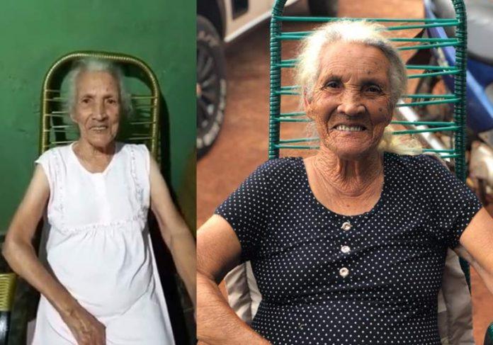 Maria Sirina agora e antes da Covid - Fotos: arquivo pessoal e Youtube