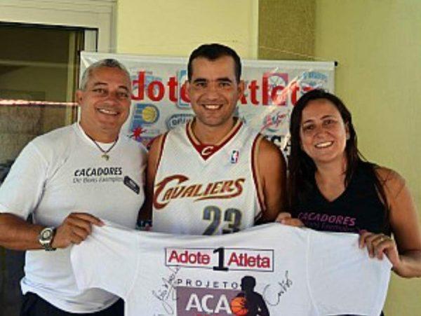 Eduardo, Cláudio e Iara - Foto: divulgação