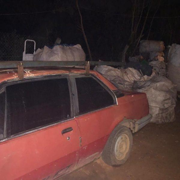 Carro antigo do Claudemir - Foto: arquivo pessoal
