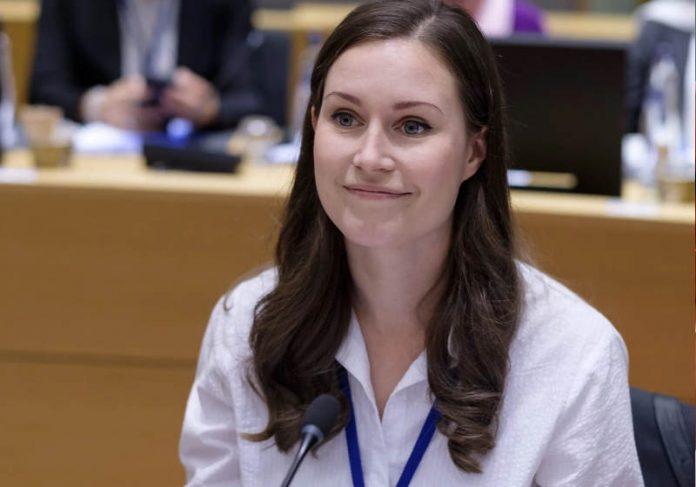 A primeira-ministra da Finlândia Foto: reprodução People