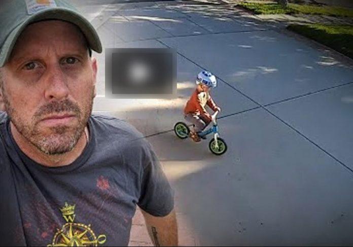 Dave e a criança - Foto: reprodução / Youtube
