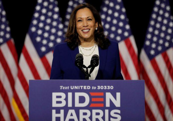 Kamala Harris na campanha 2020 - Foto: Foto: Carlos Barría/Reuters