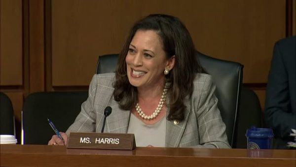 Kamala Harris no Senado em 2018 - Foto: Reuters