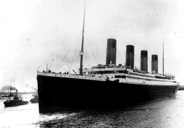 O Titanic afundou em 15 de abril de 1912, durante sua viagem inaugural de Southampton para Nova York. Mais de 1.500 pessoas perdem suas vidas. Foto: Divulgação