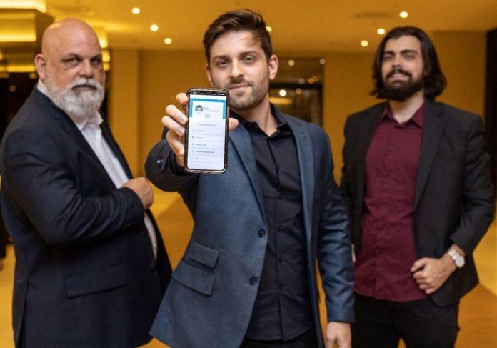 Marco, Yuri e Lucas, sócios da Vistacare - Foto: divulgação