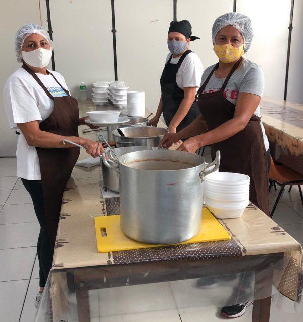 Cozinheiras do projeto - Foto: MANF