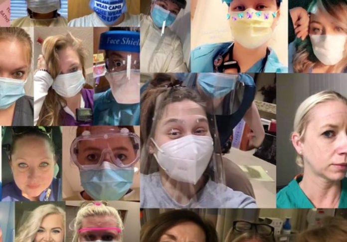 Profissionais da saúde adotados - Foto: reprodução / InsideEdition