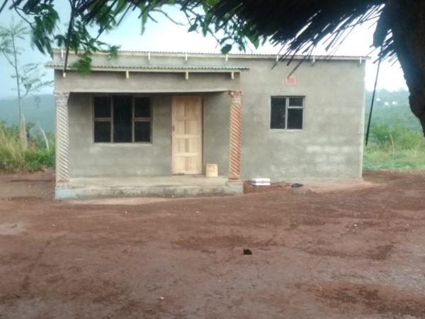 Casa nova da idosa - Foto: reprodução / Twitter
