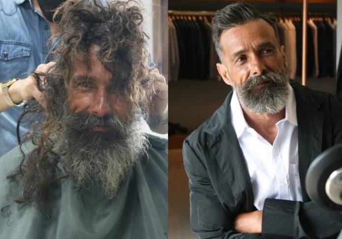 João antes e após a transformação - Fotos: arquivo pessoal/Padoo