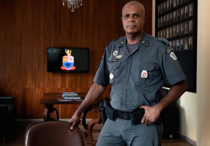 Tenente-coronel Evanilson - Foto: Marcelo Brandt/G1