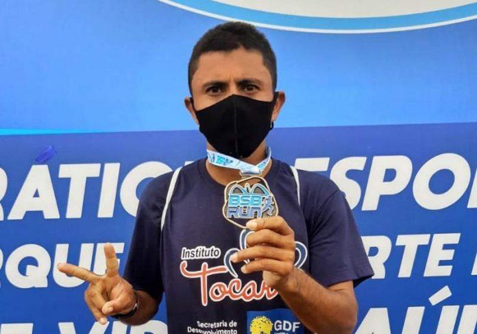 Maratonista Hudson Manhuari - Foto: Sedes/Divulgação