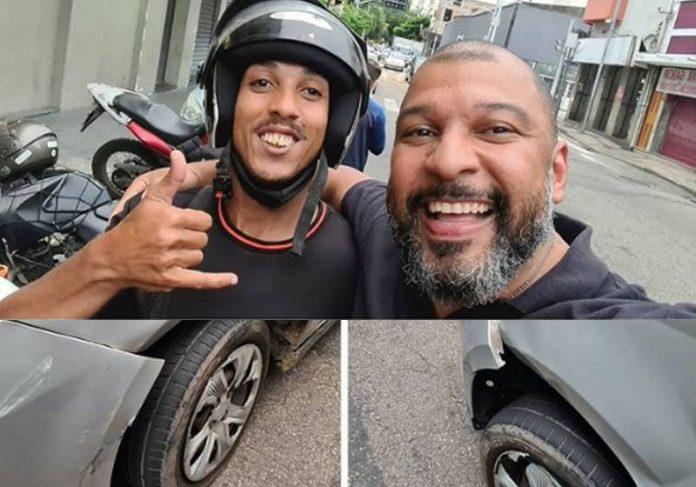 Léo Eric após o acidente - Fotos: reprodução / Instagram