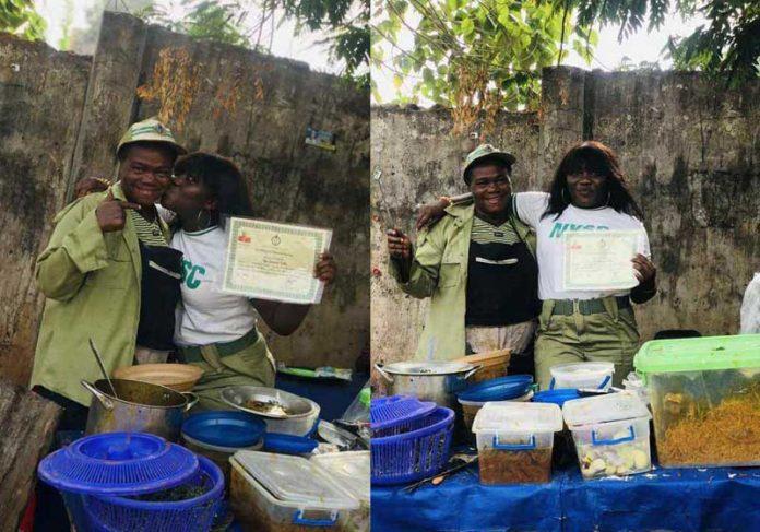 Filha comemora diploma com a mãe cozinheira - Fotos: FIDES Media / Facebook