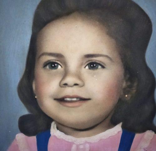 Foto que Miram tem da infância - Foto: arquivo pessoal