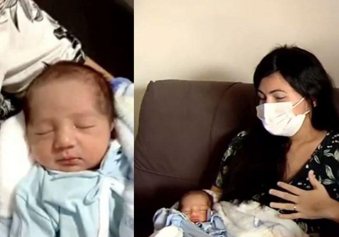 Abner e Paloma em casa - Fotos: reprodução / JT2