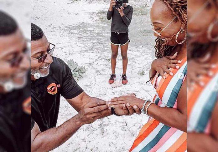 Lisa e Marcellus estão noivos - Fotos: reprodução / Instagram