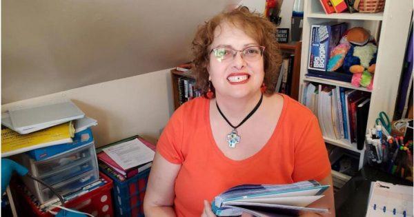 Professora Julia Koch - Foto: reprodução / CBS8