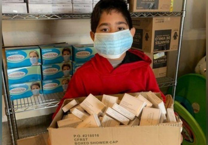 Os mil kits para sem-teto foram entregues em comunidades carentes de Nova Jersey, Estados Unidos. - Foto: reprodução MSN