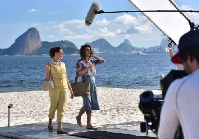 Paulo Gustavo em cena com Alexandra Richter - Foto: divulgação