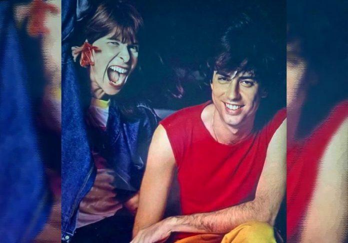 Rita Lee e Roberto de Carvalho nos anos 80- Foto: reprodução / Instagram