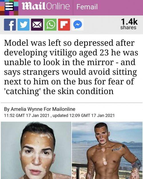 Matéria do Daily Mail sobre Roger Monte - Foto: arquivo pessoal